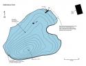 Rabid Beaver Pond contours