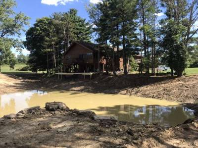 Our Pond Dredging Rehab Progress