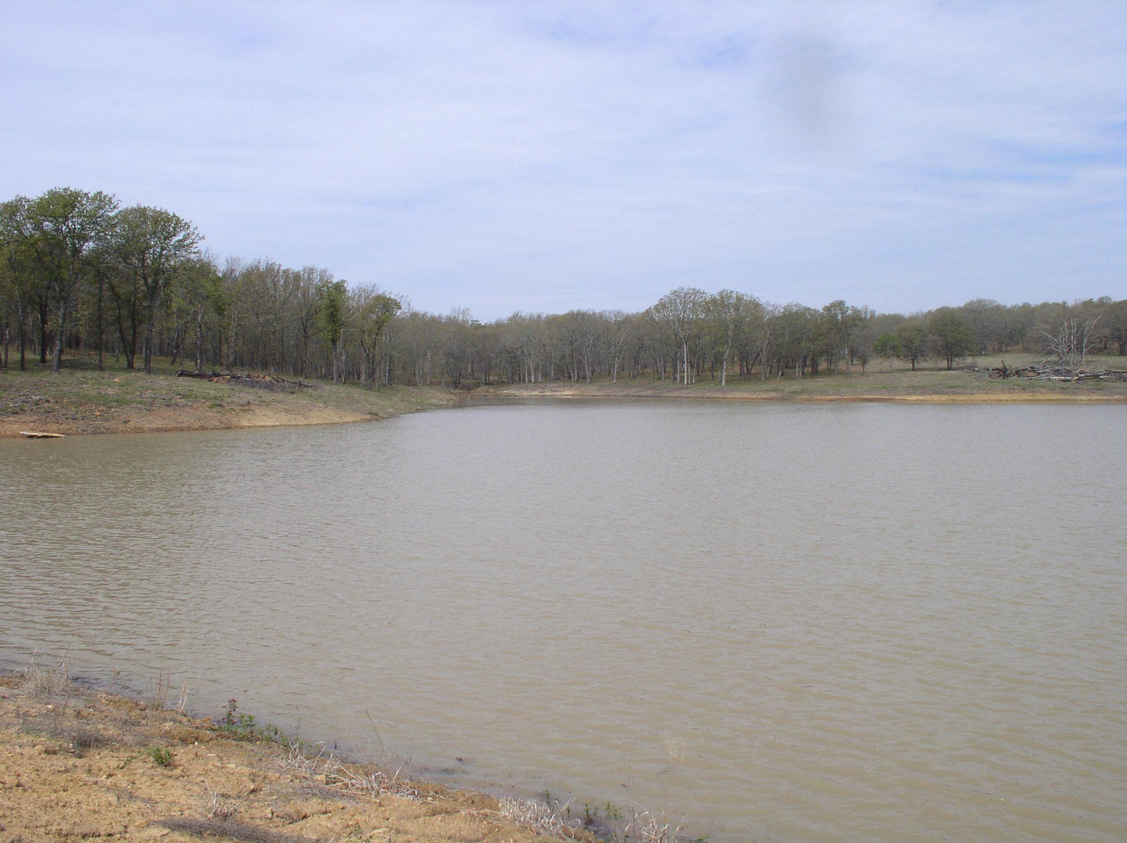 Hale pond building a dam pond boss forum for Pond dam design