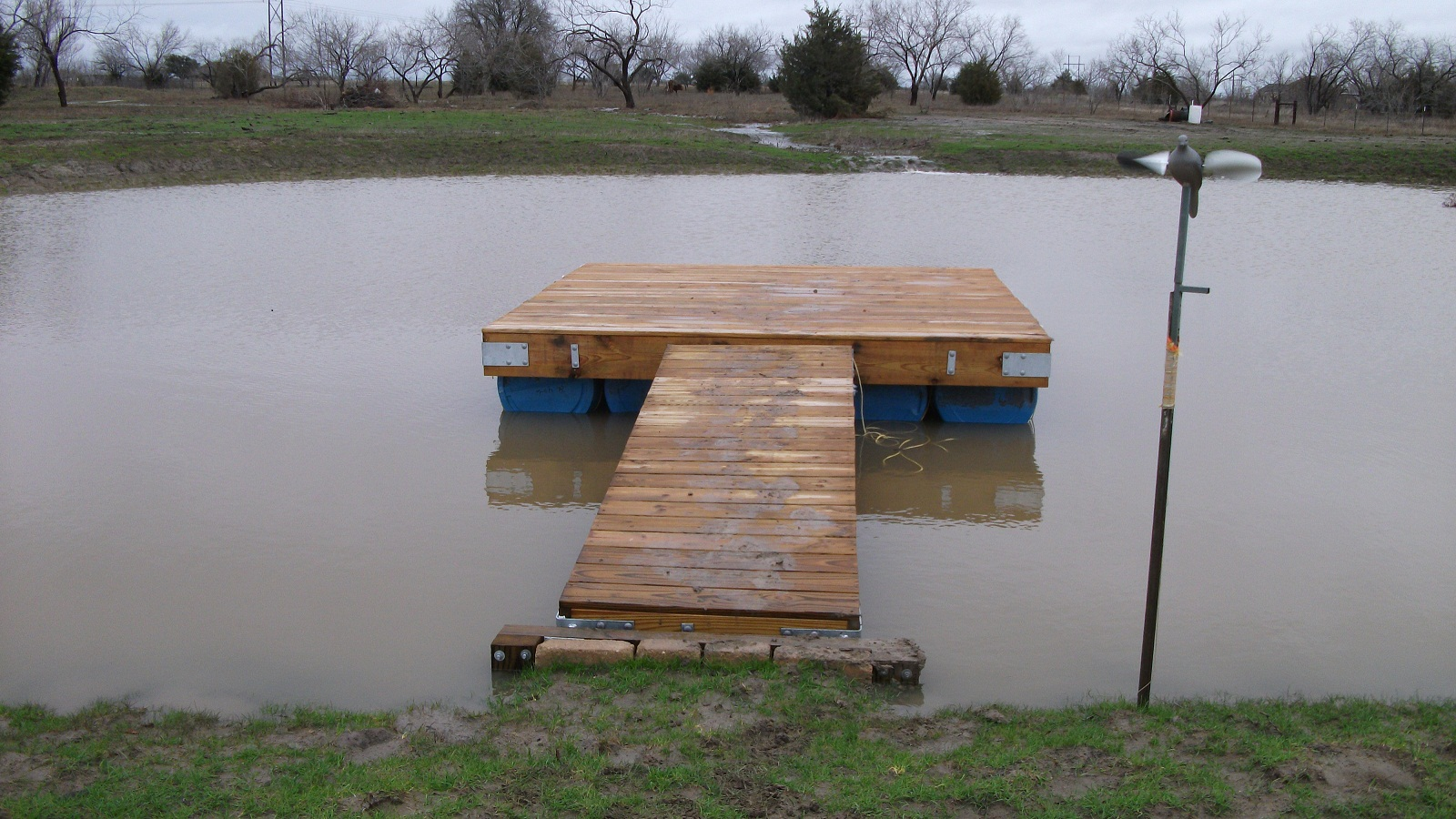 Help finalizing dock project please property projects for Pond pier plans