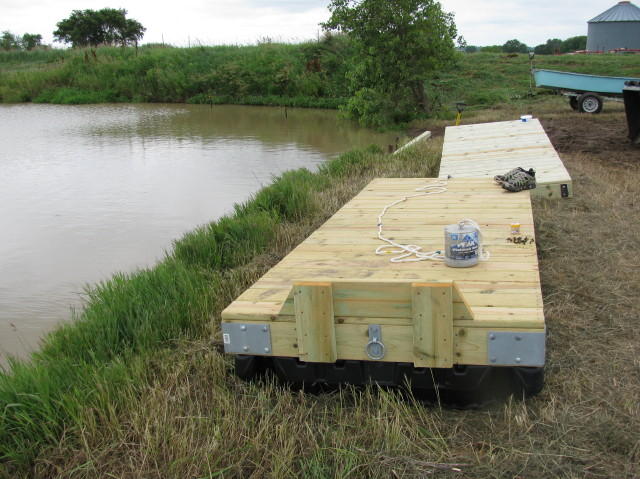 Floating Docks Need Advice Property Projects Construction Pond Boss Forum