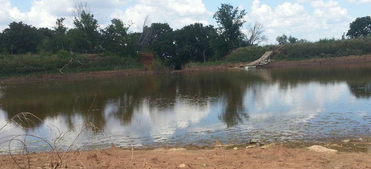 Its a sad day building a dam pond boss forum for Pond dam design