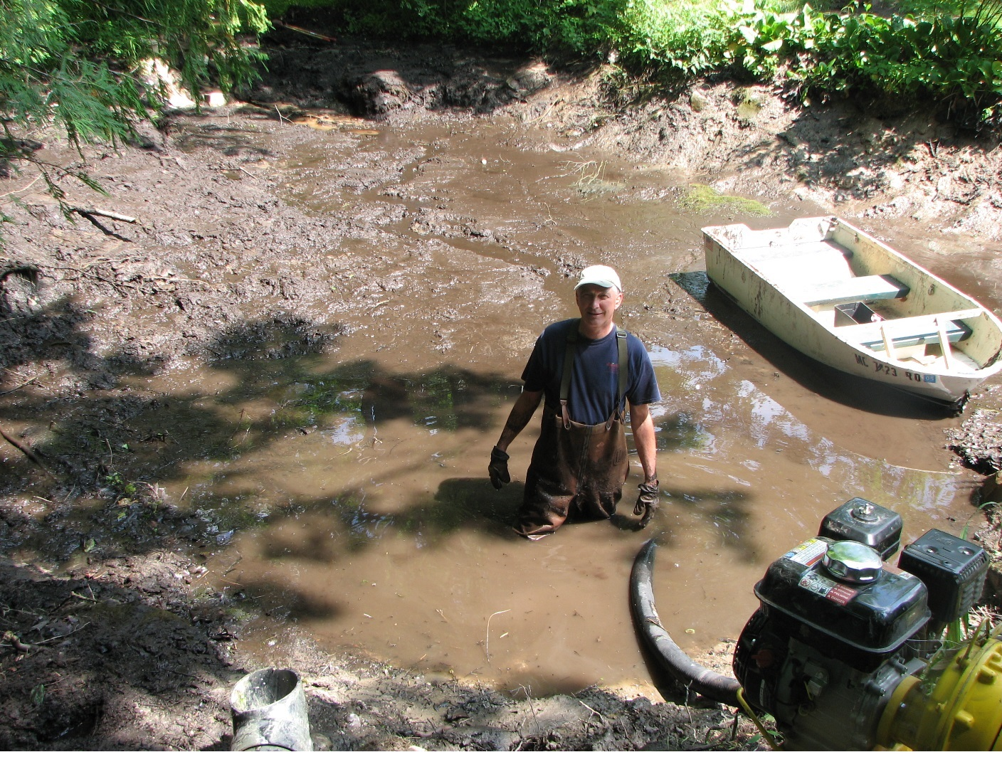 Let's talk muck    again  | Renovating a Pond or Lake? | Pond Boss Forum